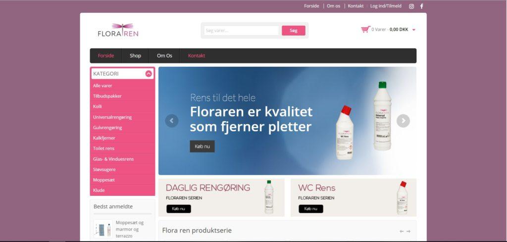 Floraren hjemmeside